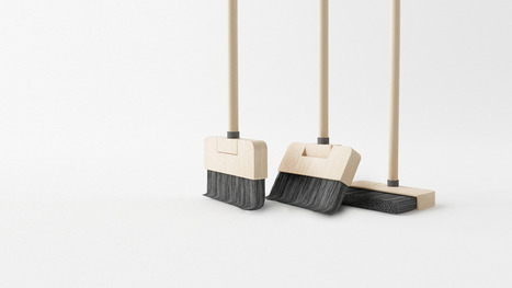 Behold, A Clever Broom That Stands On Its Own   Gabriel Catalano human being   #INperfeccion® a way to find new insight & perspectives   Scoop.it