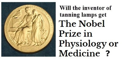 Inventor of the Tanning Lamp Nominated for the Nobel Prize - The Tanning Blog | Tanningnews | Scoop.it