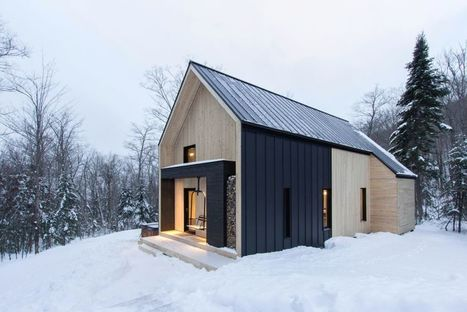 """This Cottage Exudes """"Modern Scandinavian Barn"""" - Freshome 
