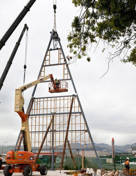 shigeru ban: christchurch NZ cardboard cathedral under construction | Digital-News on Scoop.it today | Scoop.it