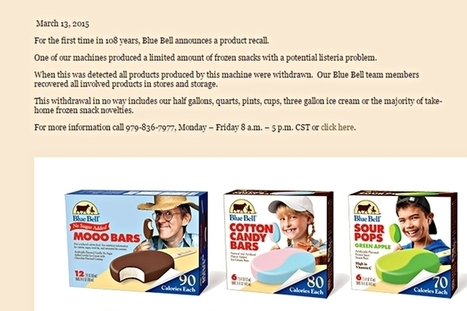 Blue Bell Ice Cream 'Total Recall' As All Its Products Are Pulled From Stores | Restore America | Scoop.it