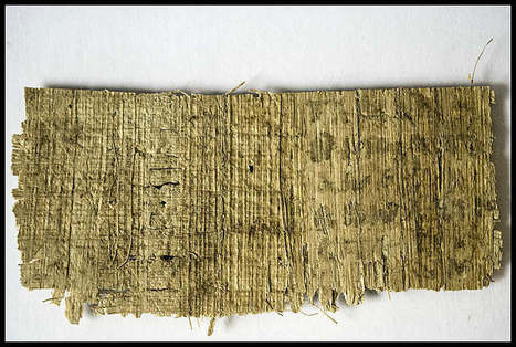 Bible Scholars Say 'Jesus Had a Wife' Papyrus Scrap Is Worthless | Newsworthy Notes - Archaeological Discoveries | Scoop.it