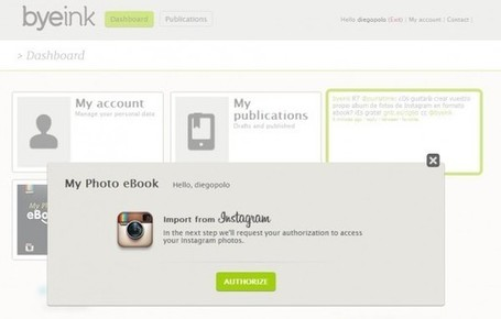 Crea un ebook con tus fotos de Instagram | Orientar | Scoop.it
