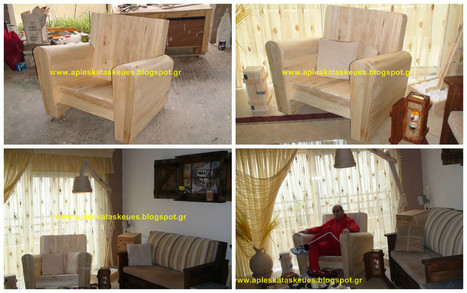 Beautiful pallet chair (no5) | 1001 Pallets | pallet furniture by Alex | Scoop.it