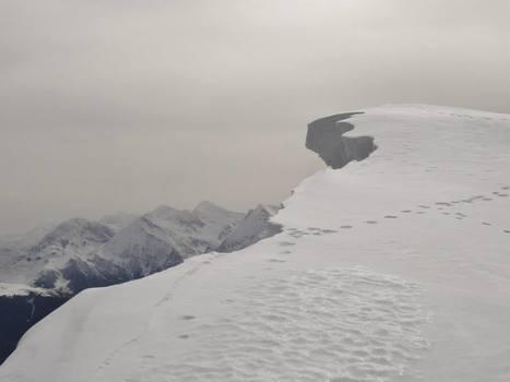 Fragile corniche sur le Plo del Naou (Arreau) - Tatianna Doy | Vallée d'Aure - Pyrénées | Scoop.it