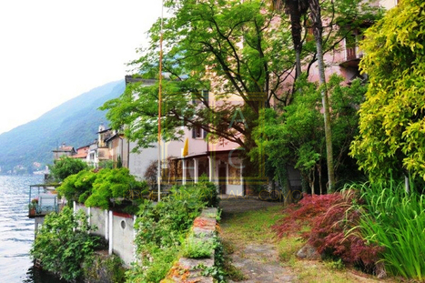 Waterfront House with open lake view   Villa for Sale Lake Como   Scoop.it