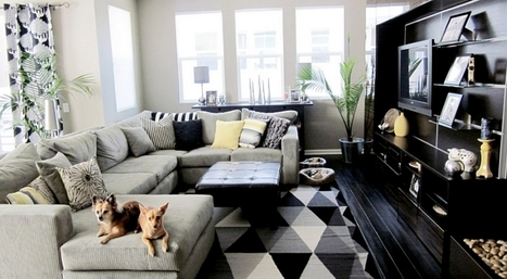 Black And White Living Room Designs Ideas | News Info | Scoop.it