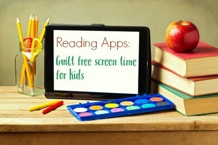 Reading Apps: Guilt free screen time for kids | Ebook and Publishing | Scoop.it