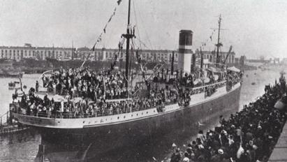 Un secolo fa le vittime dei naufragi erano italiani emigranti in America   Généal'italie   Scoop.it