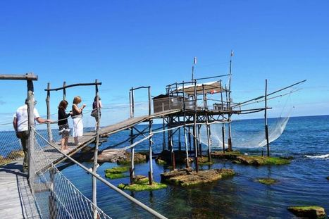 La Costa dei Trabocchi: Discovering Abruzzo's Fishing Tradition | Italia Mia | Scoop.it