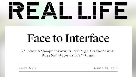 La logique normative de la critique des écrans | InternetActu.net | Agence Smith | Scoop.it
