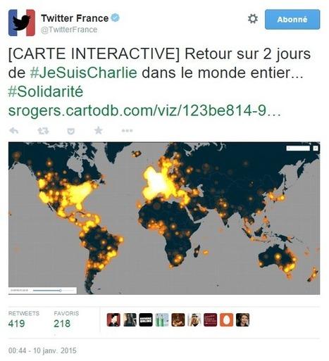 Hashtag #JeSuisCharlie, un des plus populaires de l'histoire de Twitter | digital | Scoop.it