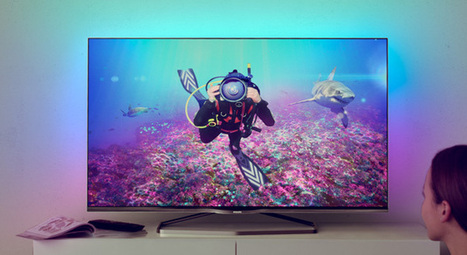 Philips Unveils its First Android-powered 4K TVs Complete With Ambilight Features | WebSpydr | Scoop.it