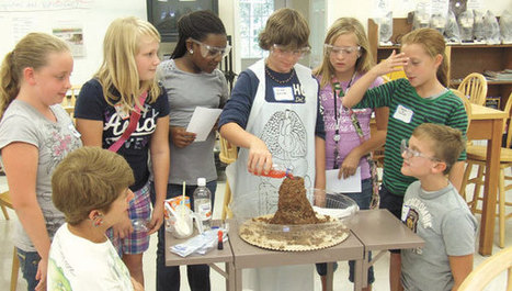 Kids turn tasty food into science fun - Post Searchlight | APS Instructional Technology ~ Science Content | Scoop.it