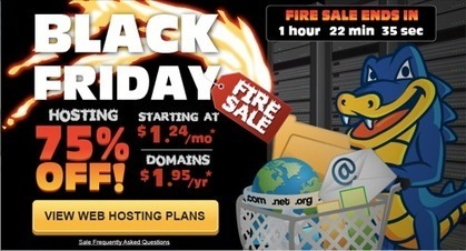 HostGator Black Friday & Cyber Monday Coupon / Promotion 75% Off | Web Hosting Deals for Black Friday & Cyber Monday 2013 | Scoop.it