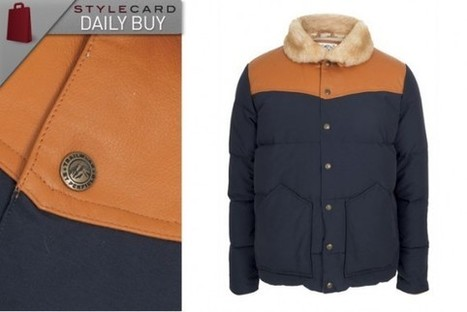 Men's Monday: Daily Buy – Penfield Navy Jacket With Leather Trim | StyleCard Fashion Portal | StyleCard Fashion | Scoop.it