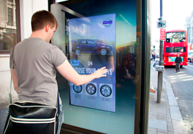 Digital outdoor advertising: Car campaign lets consumers share their design tastes | integrated marketing communications | Scoop.it