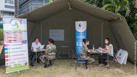 "Exercice de ""job dating"" au RSMA-R 