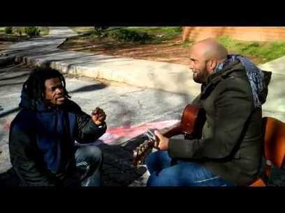 Homeless Man Joins Carlos Whittaker for a Very Moving Performance | Good People, God, Jesus, Allah, Buddha, and Joe Pesce | Scoop.it
