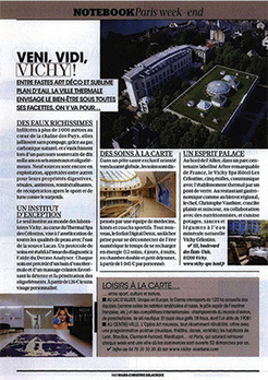 Madame Figaro avril 2014 : Vichy | Vichy Spa Hôtel Les Célestins***** | Historic Thermal Cities Villes Thermales Historiques | Scoop.it