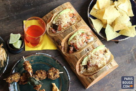Distrito Francés : le resto mexicano-cool débarque rue du Faubourg ... - ParisBouge | Gastronomie Française 2.0 | Scoop.it
