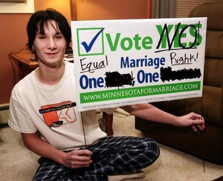 Church denies confirmation to pro-gay Barnesville, Minn., teen   Nonprofit Media   Scoop.it