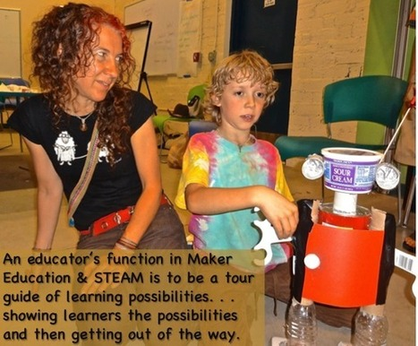 Making and Innovation: Balancing Skills-Development, Scaffolding ... | MakerSpace in the School Library Media Center | Scoop.it