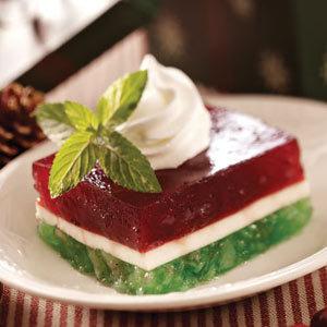 Layered Christmas Gelatin Recipe | Christmas Goodies | Scoop.it
