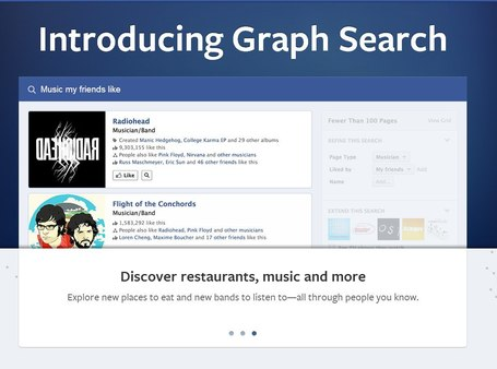 Facebook Graph Search Ties Music to Everything Else | Music business | Scoop.it