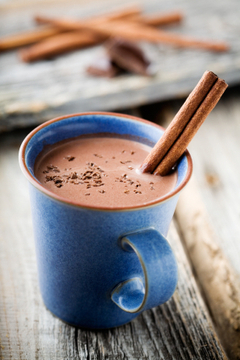 Chocolat chaud végétalien décadent / Decadent Vegan Hot ... | Chocolat et gourmandise | Scoop.it