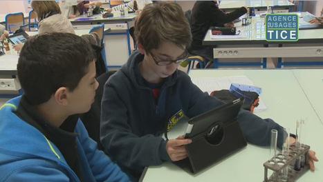 L'Agence nationale des Usages des TICE - L'usage des tablettes en classe de svt | Tablettes numériques | Scoop.it