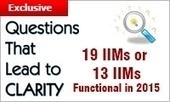 19 IIMs or 13 IIMs Functional in 2015 | MBA Universe | Scoop.it