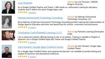 Free Google Apps Training Resources | iGeneration - 21st Century Education | Scoop.it