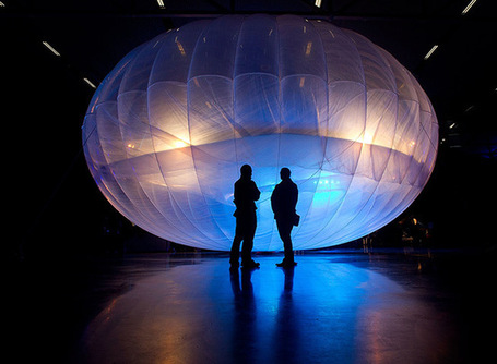 Google unveils its Project Loon Wi-Fi balloons - in pictures - The Guardian | Technological Sparks | Scoop.it