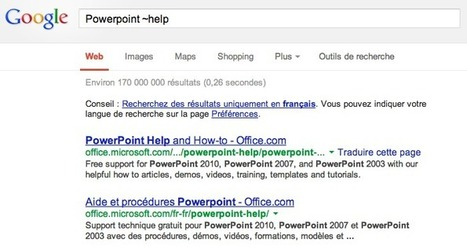 La recherche sur les synonymes ne fonctionne plus sur Google - Actualité Abondance | LaLIST Veille Inist-CNRS | Scoop.it