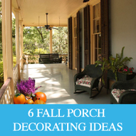 Six Fall Porch Decorating Ideas - Design Furnishings   Outdoor Furnishings   Scoop.it