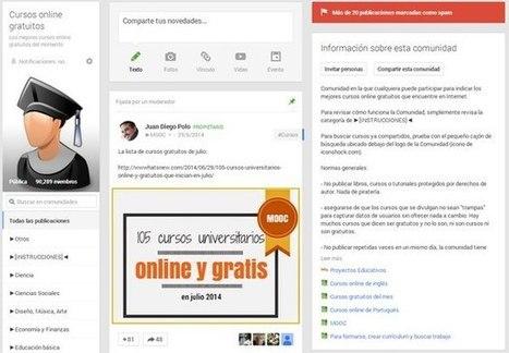 Cómo funcionan las Comunidades de Google+ | Escuela y Web 2.0. | Scoop.it