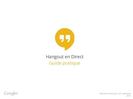 Hangouts en direct : guide pratique fr (2013 no... | Animer un réseau | Scoop.it