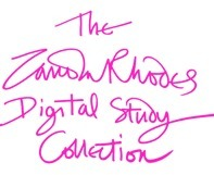 Zandra Rhodes Digital Study Collection | Music, Theatre, and Dance | Scoop.it