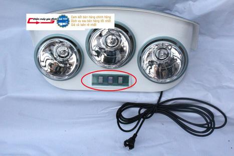 Đèn sưởi phòng tắm HANS (Đức) 3 bóng treo tường | thammyvien | Scoop.it