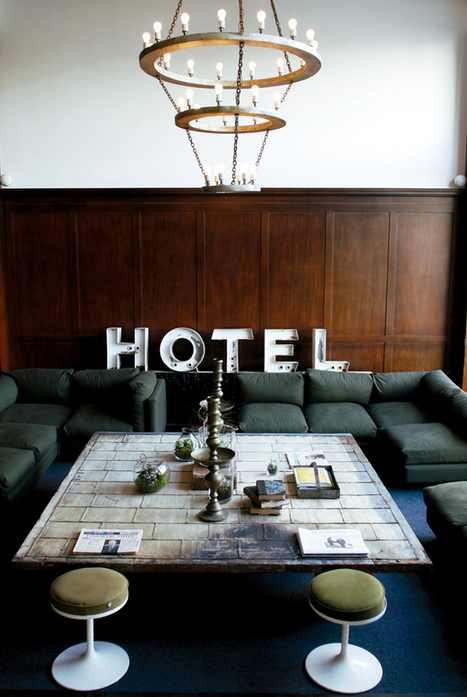Happy Interior Blog: From Place To Space: Go West - Portland | Vintage Decor | Scoop.it