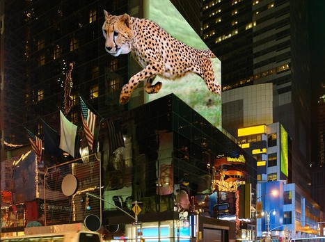 Billboards of the future could show astonishing 3D effects, thanks to a new technology from Austria | Amazing Science | Scoop.it