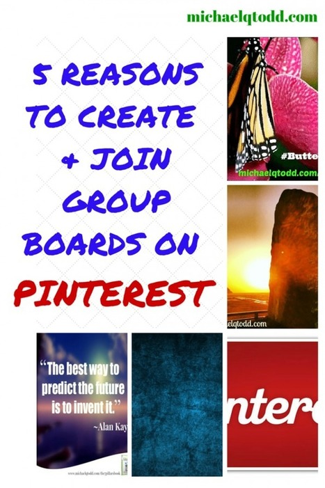 5 Reasons To Create & Join Pinterest Group Boards & How To Join Mine #PinGroup | SocialMediaSharing | Scoop.it
