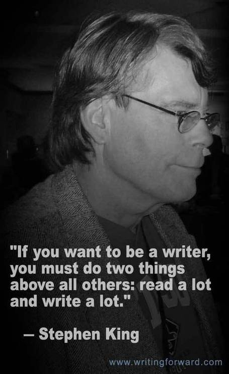 Quotes on Writing: Stephen King Says Read! | Reading for English language learners | Scoop.it