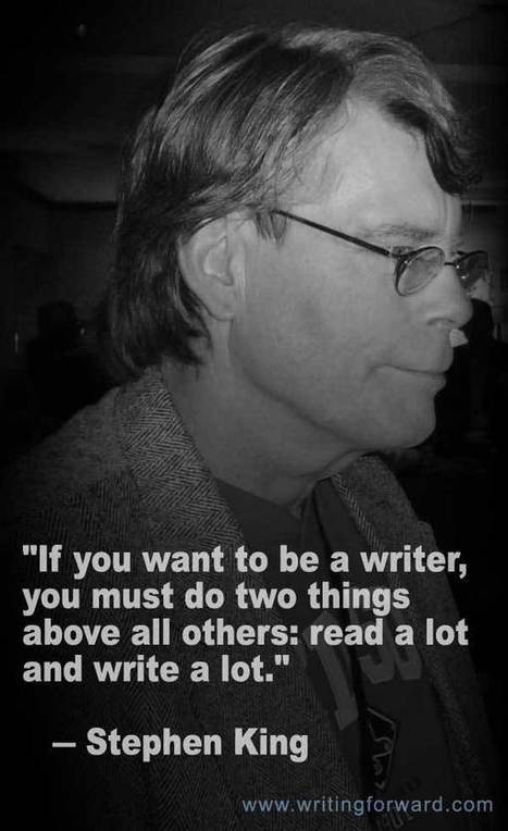 Quotes on Writing: Stephen King Says Read! | Developing Creativity | Scoop.it