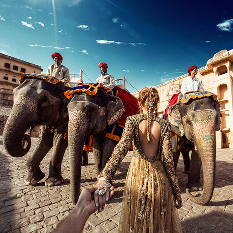 Photographer Follows Girlfriend While Traveling to Breathtaking Indian Landmarks | Le It e Amo ✪ | Scoop.it