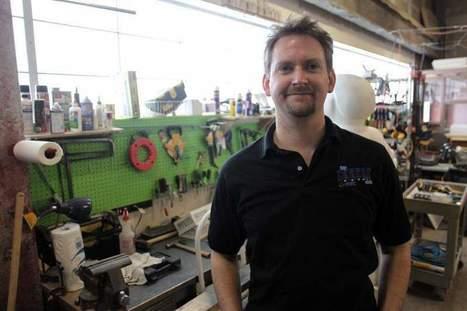 Fab Lab can do it all - Iowa City Press Citizen | Peer2Politics | Scoop.it