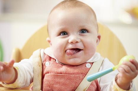 Quelle alimentation pour mon bébé entre 6 et 8 mois? | Santé de l'enfant et du nourrisson | Scoop.it