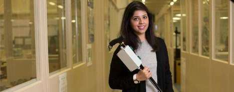 Granddaughter of Parkinson's patient invents 'smart' walking stick to help thousands of sufferers | Technology for Good | Scoop.it
