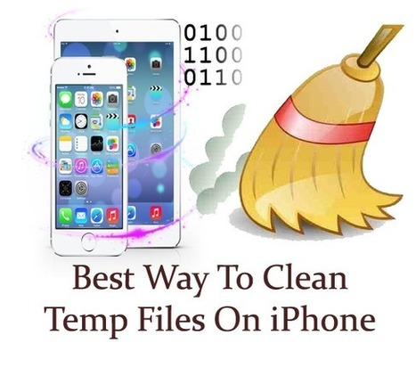 How To Clean Temp Files On iPhone 6/5S/5/4S/4 For Windows/Mac | iOS device recovery | Scoop.it